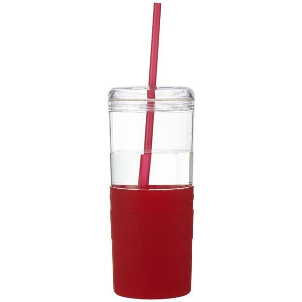Babylon drinkfles met rietje