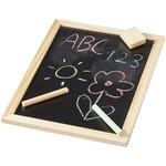 6 delige krijtjes met wisser