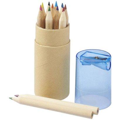 12 delige potloden set, naturel