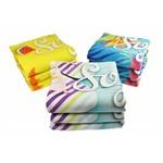 Raectief geprinte handdoeken 140 x 70cm