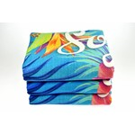 Reactief geprinte handdoeken 100  x 50 cm