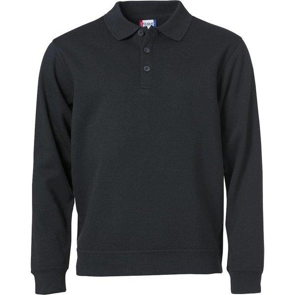 Basic Polo Sweater -/ Unisex min. afname 25 stuks