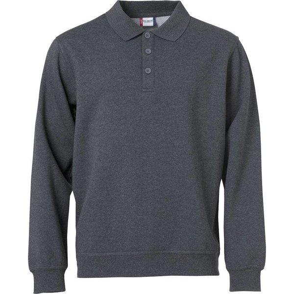 Clique Basic Polo Sweater -/ Unisex min. afname 25 stuks