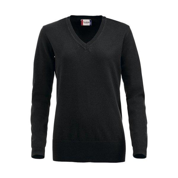 Clique Aston -/ V-nek sweater Dames