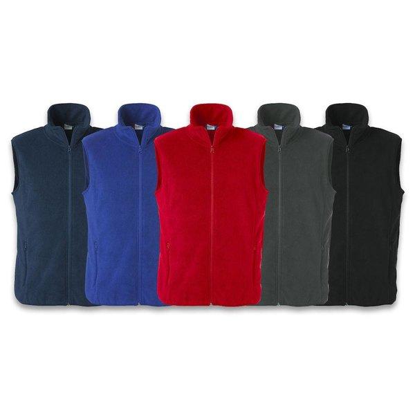 Basic Polar Fleece vest -/ Unisex fleece min. afname 25 stuks