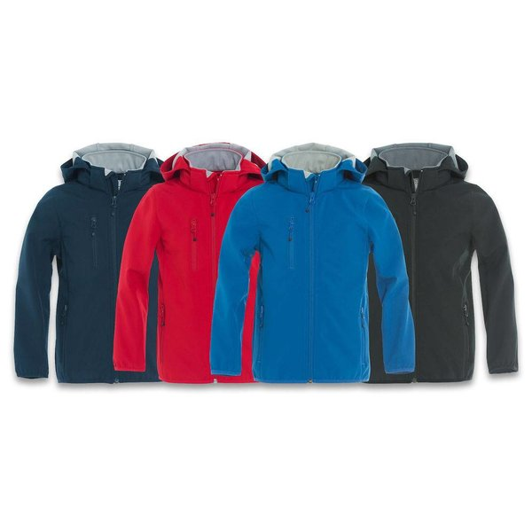Basic Softshell Jacket Junior -/ Jas