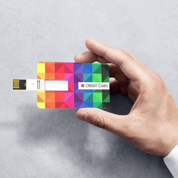 USB Stick credit card STUNT