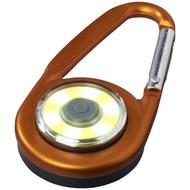 Eye karabijnhaak met COB licht, oranje
