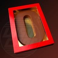 Chocolade alfabet 200 gram melk, puur, wit