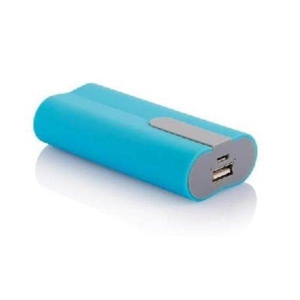 4.000 mAh powerbank, blauw