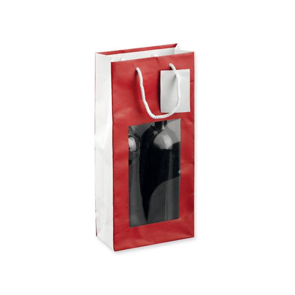 Leona II venster wijntas