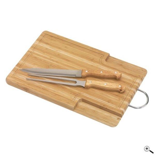 Bamboo-cut houten snijplank