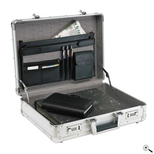 Agent aluminium koffer