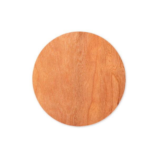 Draadloze oplader met houten behuizing