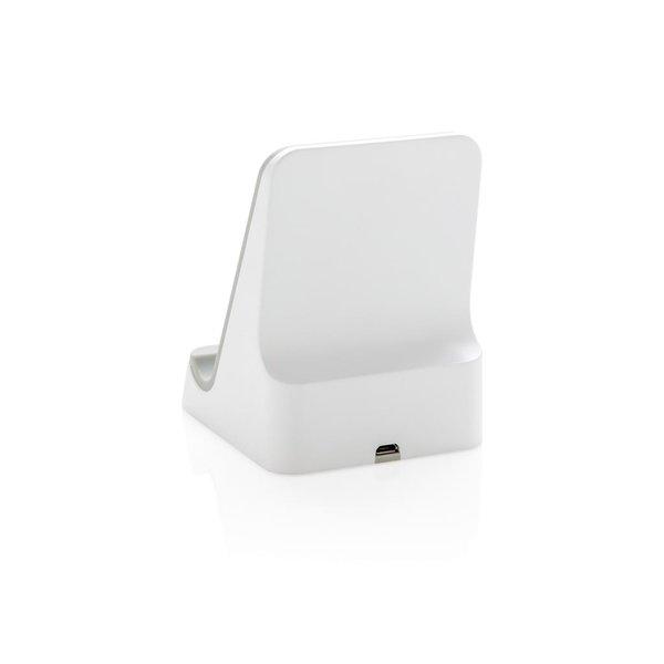 5W draadloze oplaadstandaard, wit