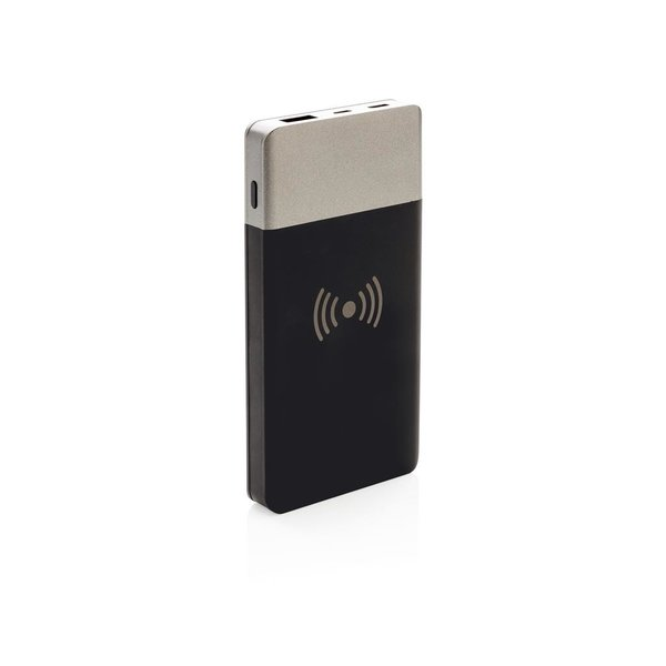 5.000 mAh Soft touch 5W draadloze powerbank