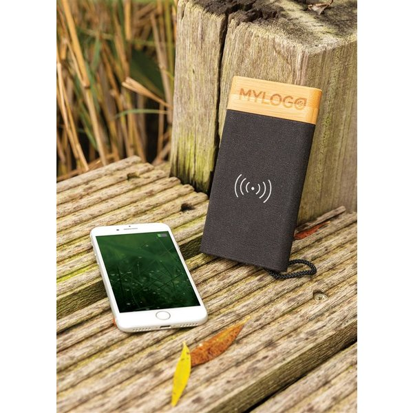 Bamboo X draadloze powerbank