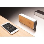 Nevada Bamboe draadloze 3W speaker
