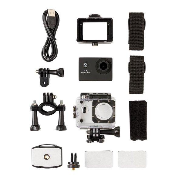 4K Action camera, zwart