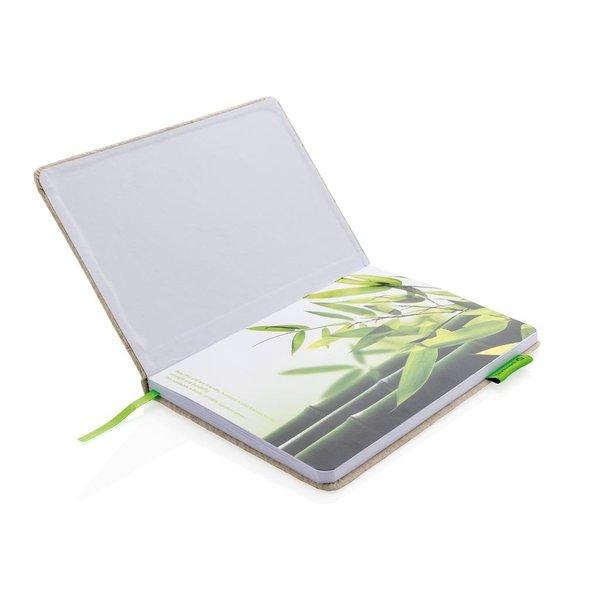 A5 Eco jute katoen notitieboek