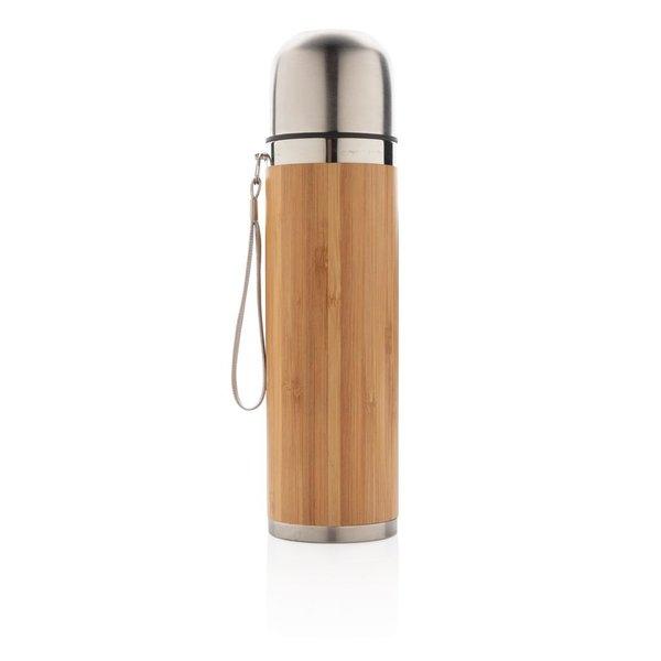 Bamboe vacuüm reisfles
