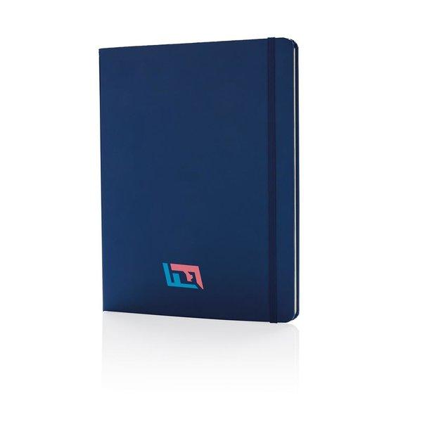 B5 basic hardcover notitieboek XL, blauw