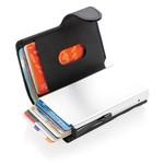 Standaard aluminium RFID kaarthouder met PU portemonnee