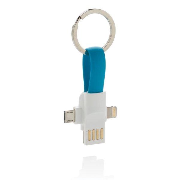 3-in-1 sleutelhanger kabel