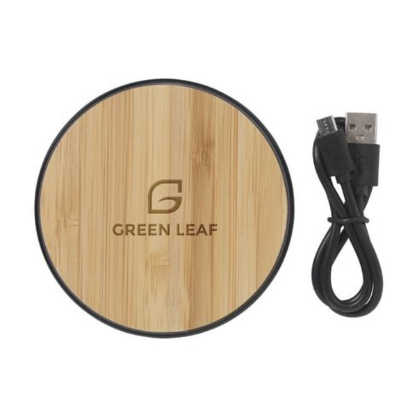 Bamboo 10W Wireless Fast Charger draadloze snellader