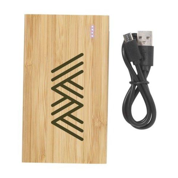 Bamboo 4000 Powerbank externe oplader