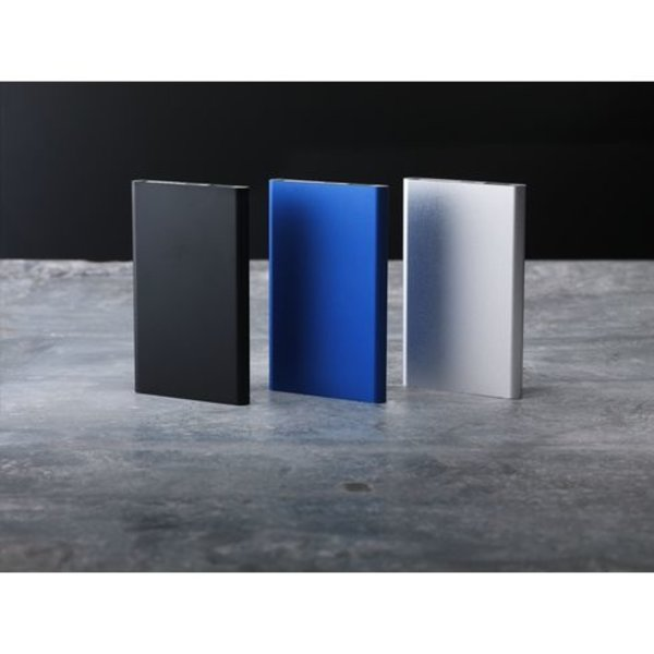 Aluminium 8000 Wireless Powerbank draadloze oplader
