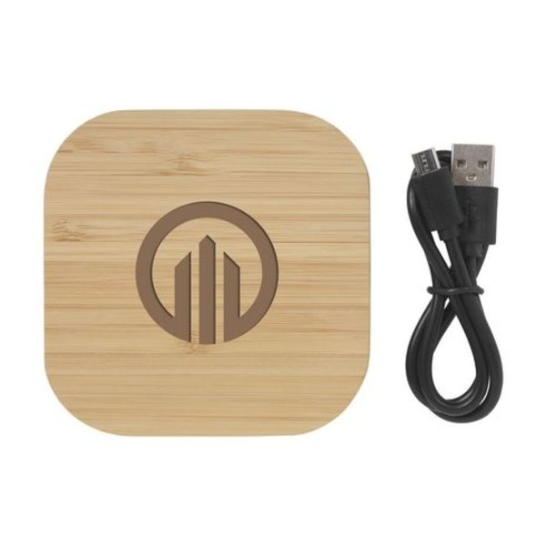Bamboo 5W Wireless Charger draadloze oplader