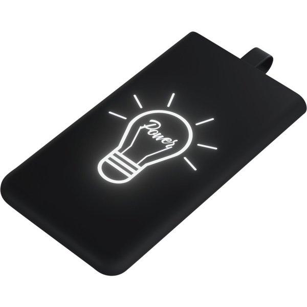 Download afbeelding  SCX.design P06 powerbank met oplichtend logo