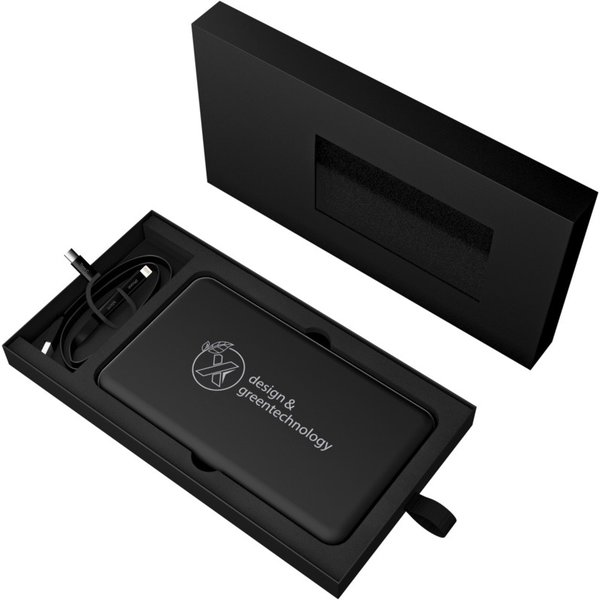 SCX.design P29 powerbank solar met oplichtend logo