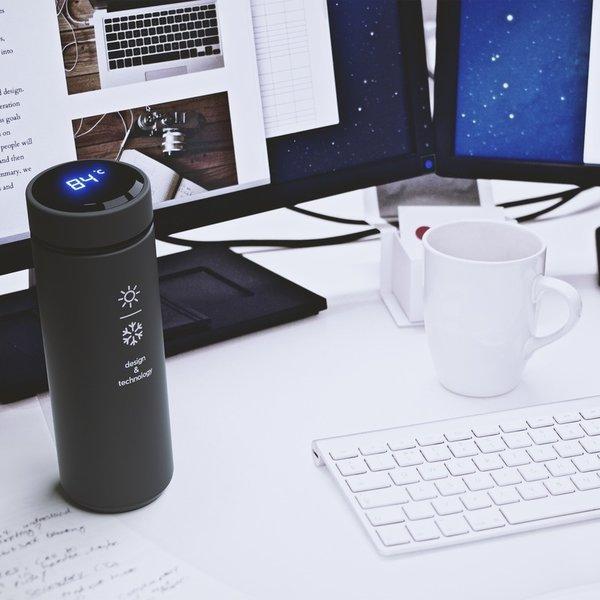 SCX.design D10 geïsoleerde slimme fles.
