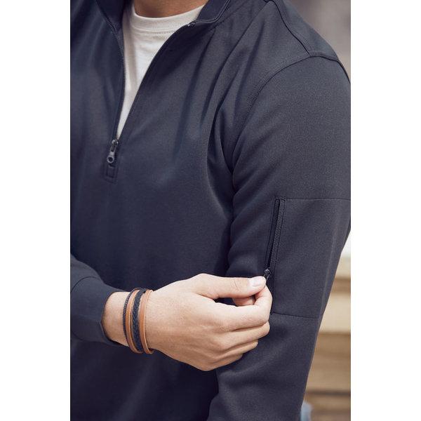 Clique basic active half zip sweater Heren/Dames