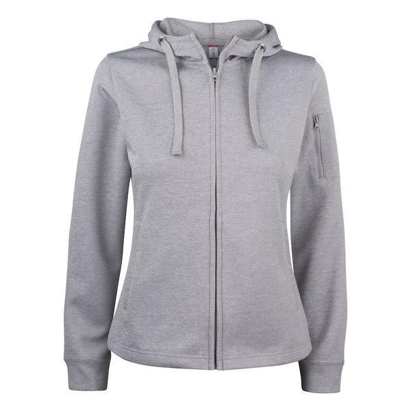 basic active hoody full zip ladies