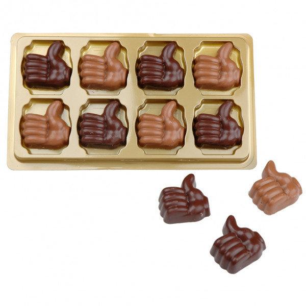 8 duim chocolaatjes