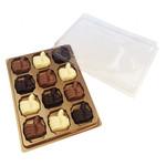 12 duim chocolaatjes