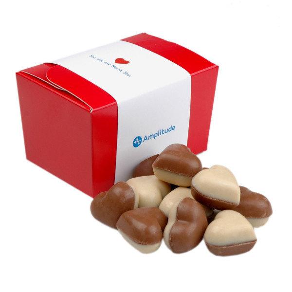 Ballotin met hartjes bonbons