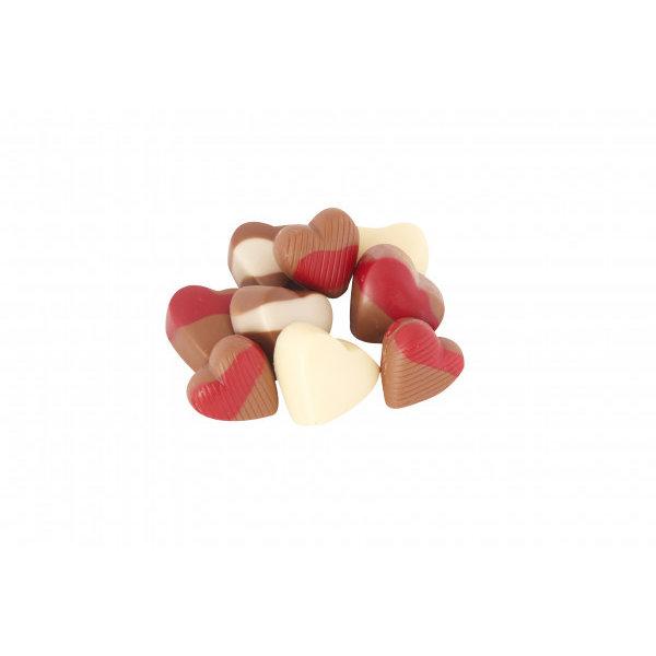 12 hartjes bonbons in een luxe doos
