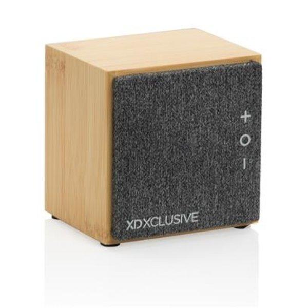 Bamboe draadloze speaker