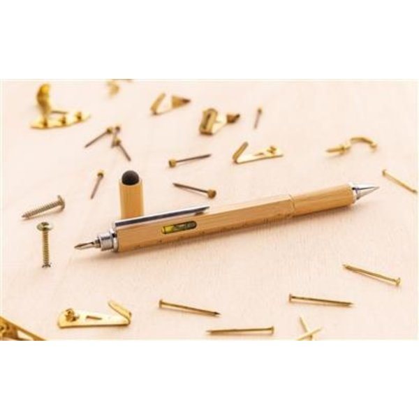 Bamboe 5 in 1 tool pen