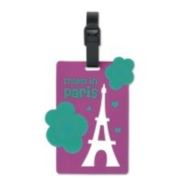 2D custom shape luggage tag