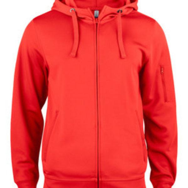 Clique basic active hoody full zip Heren/Dames