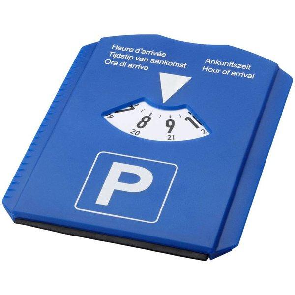 5 in 1 parkeerschijf, blauw