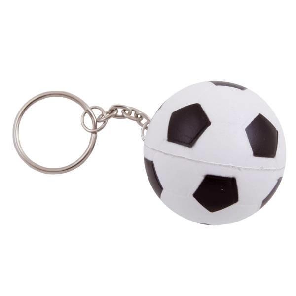 Anti-stress met sleutelhanger Voetbal