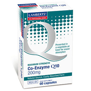 Lamberts Co-enzym Q10 200 mg 60 capsules