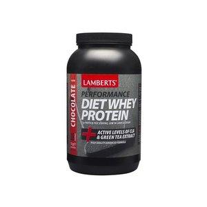 Lamberts Diet Whey Protein Strawberry (aardbei) 1000 gram
