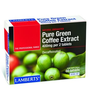 Lamberts Pure Green Coffee Extract 60 tabletten